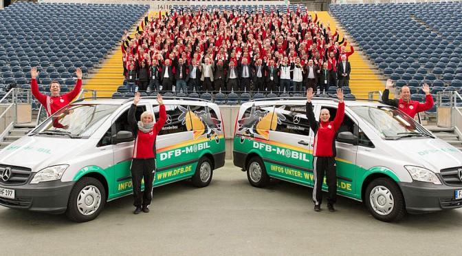 DFB Mobil besucht den Futsal Club Nettetal e.V.