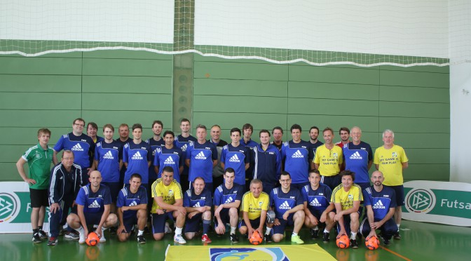 Futsal-Trainer-Lehrgang in Grünberg/Hessen